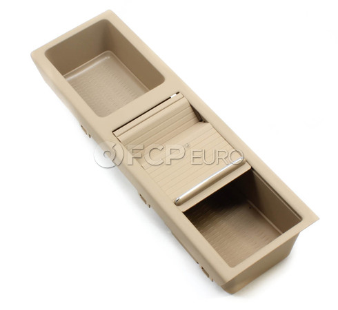 BMW Hellbeige Center Console Storage Tray (E46) - Genuine BMW 51167038325