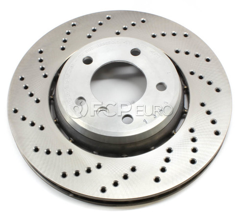 BMW Performance Brake Rotor Front Left - Genuine BMW 34112282871