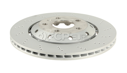 Audi Disc Brake Rotor Rear Right - Genuine VW Audi 8E0615602D