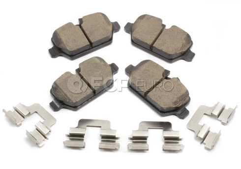 Mini Cooper Brake Pad Set Rear - Akebono EUR1554