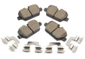 Mini Cooper Brake Pad Set - Akebono EUR1554