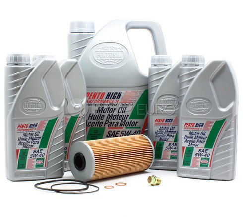 Mercedes Oil Change Kit 5W-40 - Pentosin W210OILCNGEKT
