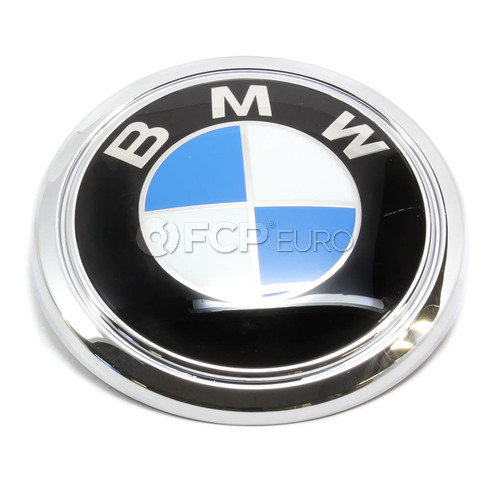 BMW Roundel Emblem (E65 E66) - Genuine BMW 51147135356