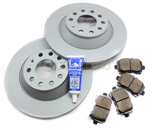 Audi VW Brake Kit - Zimmermann/Akebono 4F0615601EKT