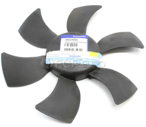 Volvo Engine Cooling Fan Blade (S40) - Genuine Volvo 30623066