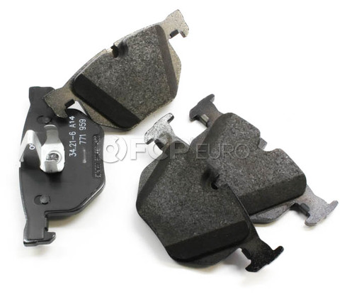 BMW Brake Pad Set Rear (E70 E71) - Genuine BMW 34216776937