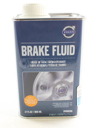 DOT 4 Brake Fluid (800ml) - Genuine Volvo 31400206