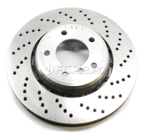 BMW Performance Brake Rotor Front Right - Genuine BMW 34112282872