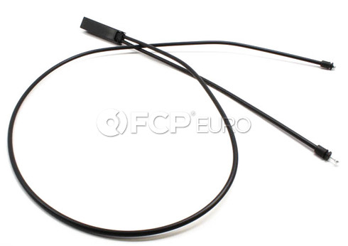 BMW Hood Release Cable Front - Genuine BMW 51237184432
