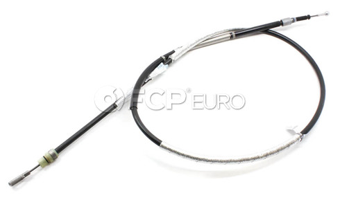 Audi VW Parking Brake Cable (A4 Quattro) - Genuine VW Audi 8E0609721AT