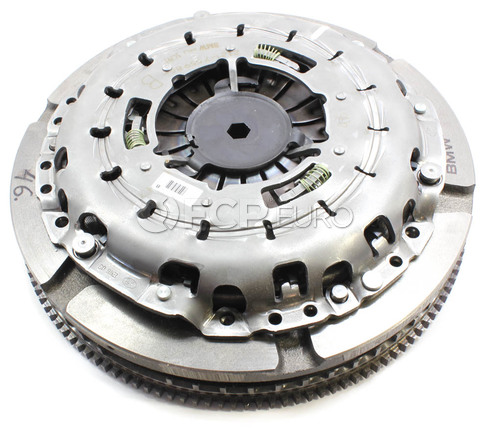 BMW Dual Mass Flywheel With Clutch (E60 E63 E64) - Genuine BMW 21207567226