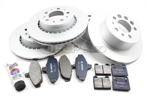 Volvo Brake Kit 11.25in (740 760 780) - Bosch QuietCast VBBRAKEKIT11