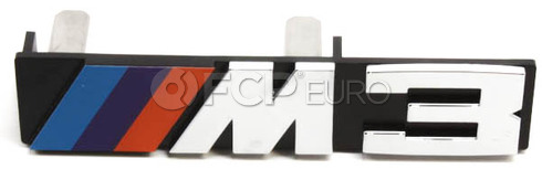 BMW M3 Grill Emblem (E30 M3) - Genuine BMW 51141934620