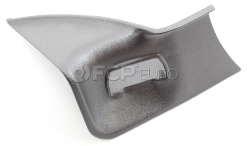 BMW Seat Belt Receptacle Cover Rear Right (Schwarz) - Genuine BMW 72111944498