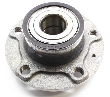 Audi VW Wheel Hub Assembly Rear (A3 Beetle GTI Golf Rabbit) - Genuine VW Audi 1K0598611