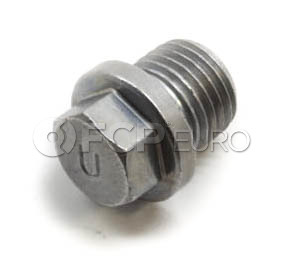 BMW Engine Block Drain Plug - Genuine BMW 07119904539