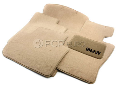 BMW Carpeted Floor Mat Set (E83) - Genuine BMW 82110305004