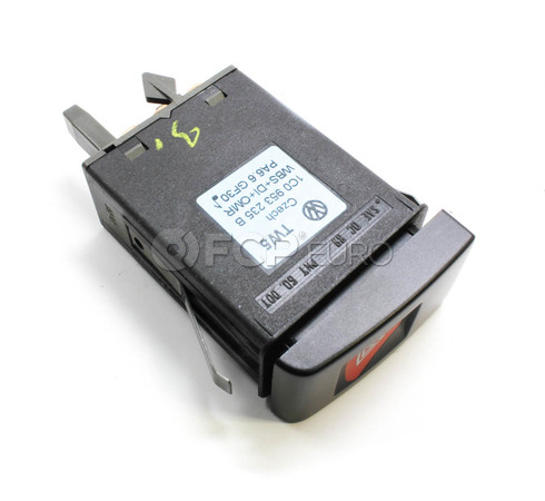 VW Hazard Flasher Switch - Genuine VW Audi 1C0953235BB41