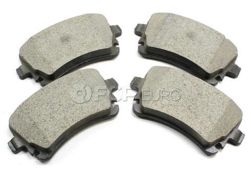 Audi VW Brake Pad Set Rear (A6 CC Golf Passat) - Meyle 4F0698451D