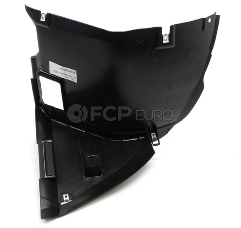 BMW Lower Fender Liner Left (E46) - Genuine BMW 51718193811