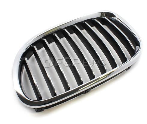 BMW Kidney Grille Left - Genuine BMW 51117295297