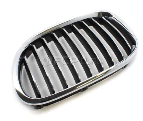 BMW Kidney Grille Left - Genuine BMW 51117295297