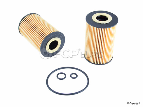 VW Engine Oil Filter Kit (Passat) Mahle - 03L115562