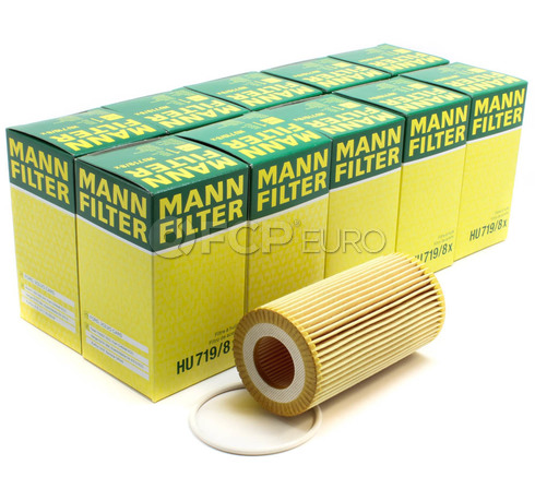Volvo Engine Oil Filter (C70 S40 V50 C30) - Mann (OEM) Case of 10