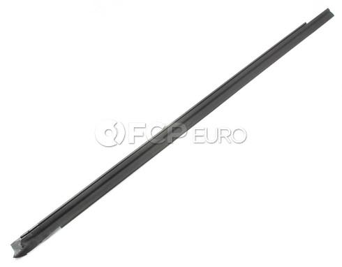 BMW Side Window Seal Rear Right Lower - Genuine BMW 51368119964