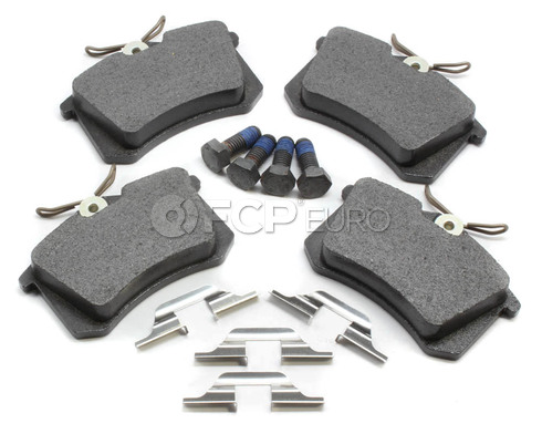 Audi VW Brake Pad Set (A4 Allroad Jetta Passat) - ATE 8E0698451L