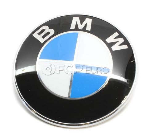 BMW Roundel Emblem - Genuine BMW 51148123297