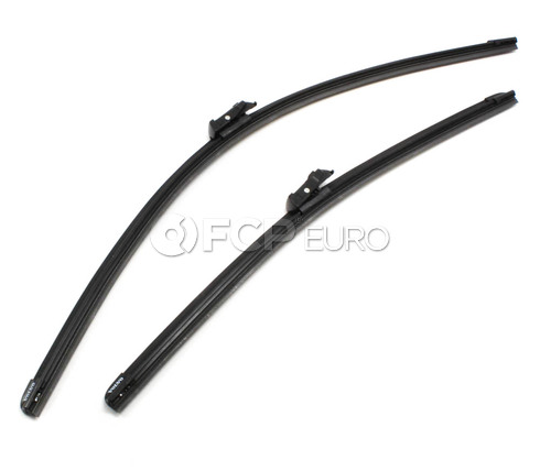 Volvo Windshield Wiper Blade Set (S40 S60 V60 V70 S80 XC60 XC70) - Genuine Volvo 31457760