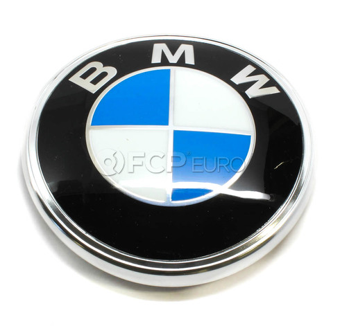 BMW Trunk Lid Emblem (320i 733i 735i 2002 2002tii) - Genuine BMW 51141872328