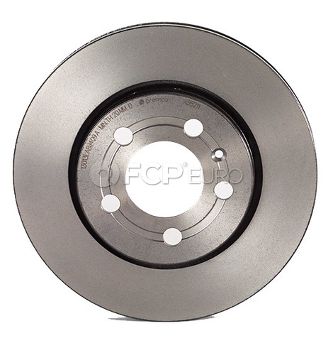 VW Audi Disc Brake Rotor Rear - Brembo 8N0615601B