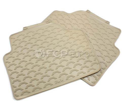Rubber floor mats Restaurant Bmw Rubber Floor Mats Beige Rear e90 Genuine Bmw 51470427560 Fcp Euro Fcp Euro Bmw Rubber Floor Mats Beige Rear e90 Genuine Bmw 51470427560