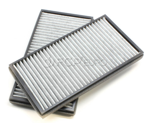 BMW Charcoal Cabin Air Filter Set (E65 E66) - Mann 64119272643