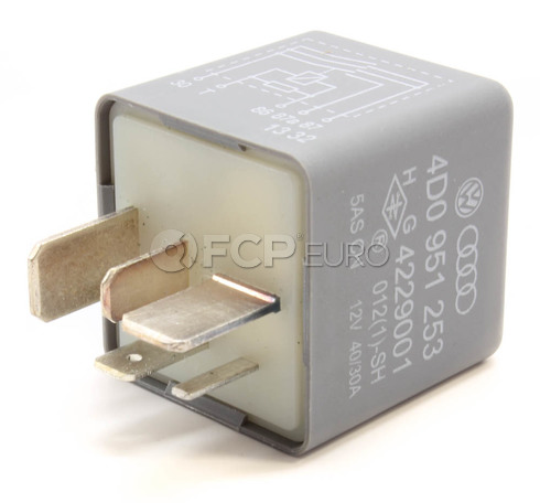 Audi VW Fuel Pump Relay (A4 A6 S4 Allroad Passat) - Stribel 4D0951253