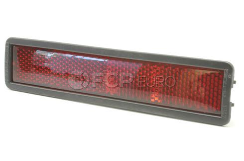 BMW Side Marker Light Lens Rear - Genuine BMW 63141377850
