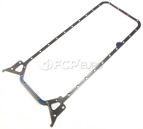 Mercedes Oil Pan Gasket (190D 300D) - Genuine Mercedes 6050140022
