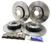 Mercedes Brake Kit - Akebono CLK320BRAKEKIT