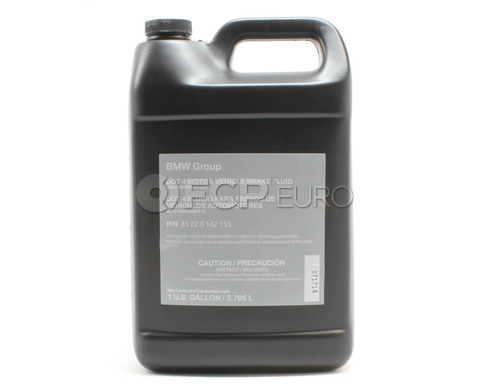 DOT 4 Brake Fluid (1 Gallon) - Genuine BMW 81220142155