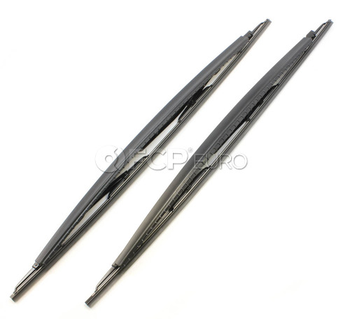 BMW Windshield Wiper Blade Set (E65 E66) - Genuine BMW 61610442837