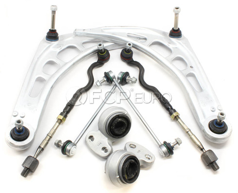 BMW 8-Piece Control Arm Kit (E46) - E46CAKIT