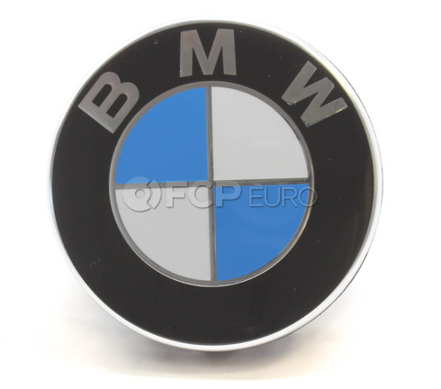 BMW Wheel Center Cap (Clip On with Chrome Outer Ring) - Genuine BMW 36136783536