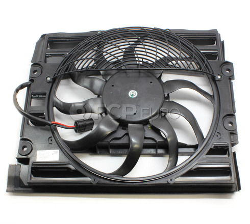 BMW Auxiliary Fan Assembly (E38 E52) - Genuine BMW 64546921383