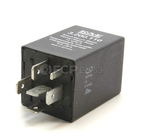 VW Windshield Wiper Relay - KAE 3B0955531