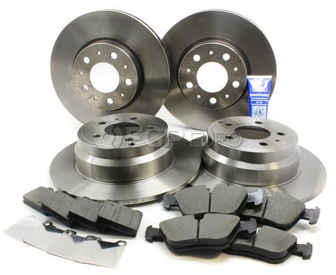 """Volvo Brake Kit 11"""" (850 C70 S70 V70) - Brembo 288MMBK4-PBR"""