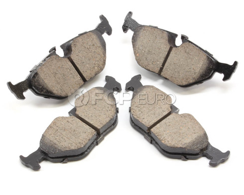 BMW Brake Pad Set Rear (525i 530i 540i) - Akebono EUR1239