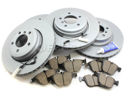BMW Brake Kit Front and Rear (E65 E66) - Zimmermann/Akebono 34116864057KTFR