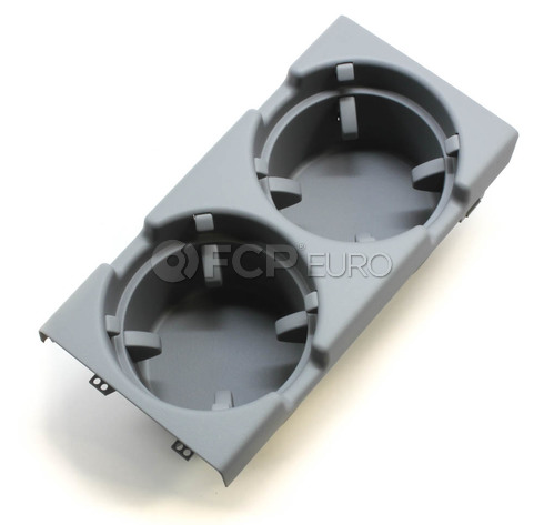 BMW Cup Holder Grey (Grey) - Genuine BMW 51168248504